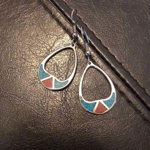 Southwestern color earrings